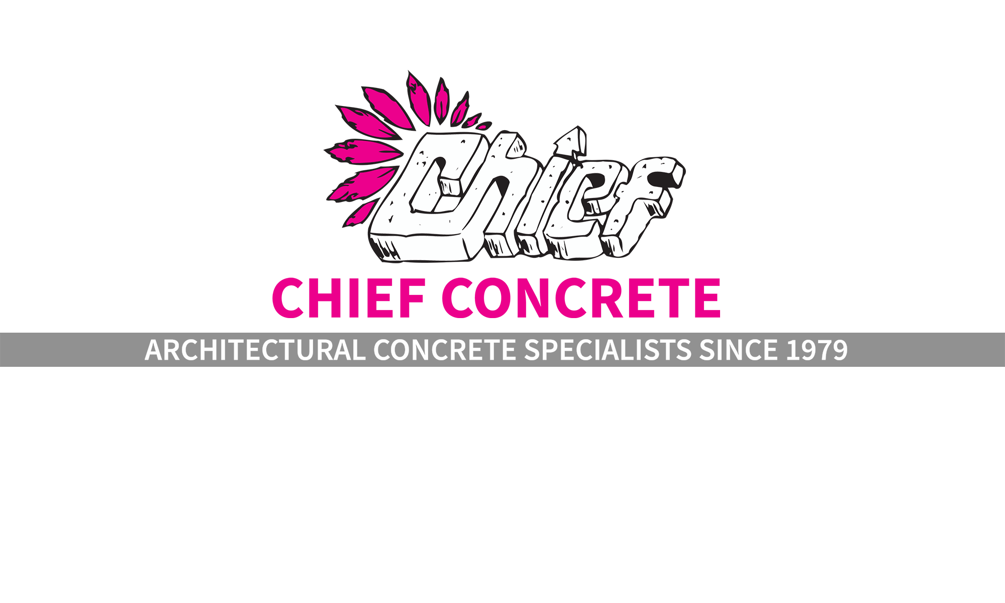 Chief Concrete Main Logo